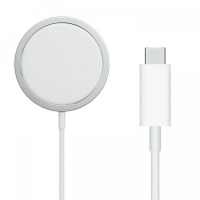 Magsafe Charger 15W Fast charge White Ασύρματος φορτιστής Λευκός
